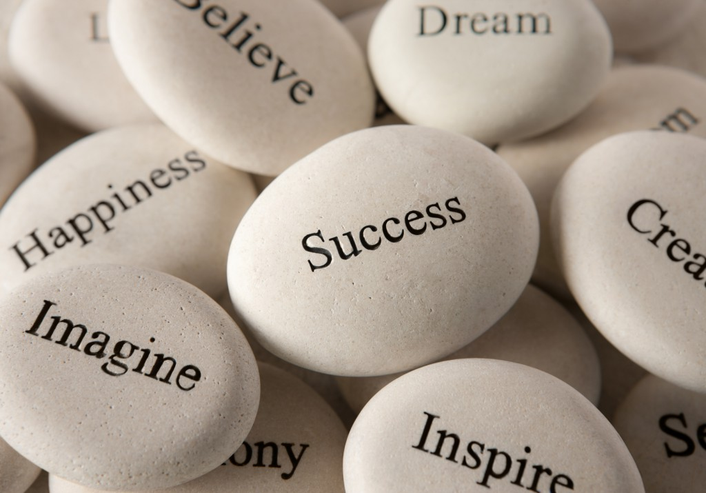 Inspirational stones - Success
